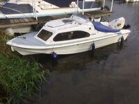 Shetland Cabin Day boat 5;5 meter