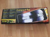 EXO TERRA COMPACT TOP CANOPY 60x9x20cm
