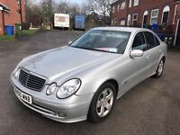 2005 MERCEDES E CLASS AUTO CDI £2000