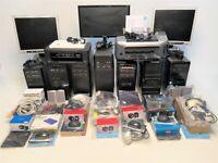 7 Computers - 3 Monitors -1 Printer & 1 Print/Scan/Copier + Loads of accessories