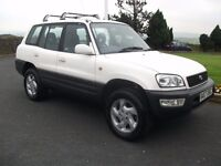 TOYOTA RAV4 LPG CONVERTED NOT SPARES OR REPAIRES
