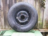 Wheel and tyre for Mark 1 mini