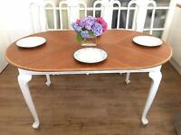 QUEENS ANNE Vintage TABLE EXTENDABLE FREE DELIVERY LDN🇬🇧shabby Chic