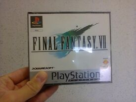 Final Fantasy VII Platinum Sony PS1 PAL *No Manual