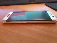***MINT CONDITION*** Samsung s6 edge gold 32gb