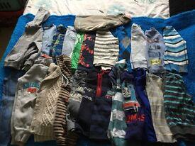 Huge bundle of age 3-4 boys clothes