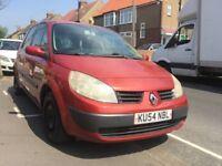 2004 Renault Scenic 1.6 MOT December