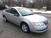 2006 Saturn Ion NO ACCIDENT - CERTIFIED & E-TESTED