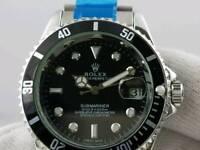 Rolexxx black dial Case size 42mm