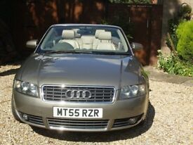 Audi A 4 Cabriolet,Wonderfull Condition,1 years MOT ,Low miles,Very Economical,No Faults,Clean ,