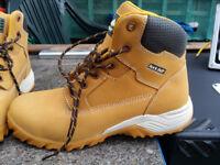 Rock Fall Flint Honey Hiker Styled Safety Boot,size 10 uk,44 New