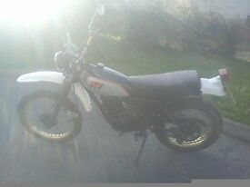 Yamaha XT250 12months mot very low mileage 2 owners from new garage dry stored 18 years