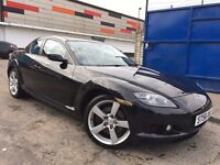 Mazda RX-8 1.3 Drives Superb 2 Owners Bose Sound,LONG MOT GENUINE LOW MILEAGE