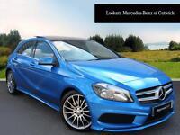 Mercedes-Benz A Class A220 CDI BLUEEFFICIENCY AMG SPORT (blue) 2013-11-09
