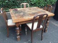 FREE FREE FREE extending table and chairs