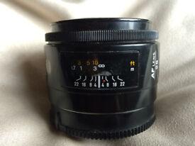 MINOLTA 28mm F2.8 AF LENS