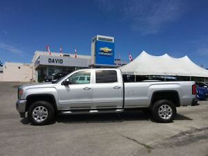 2015 GMC SIERRA 2500HD SLE CREW 4WD LONG, REMOTE START, 18 WHEEL