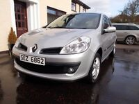 2008 Clio in Very good condition long mot. Low mileage. Just serviced. Silver