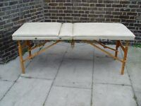 FREE DELIVERY Portable Massage Therapy Table In Cream