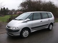7 SEATER RENAULT ESPACE FULL SERVICE HISTORY