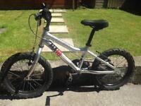 "Ridgeback MX16 Terrain. Boys/Girls/Kids/Child's Bike. 16""Wheel."