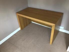 Habitat chunky oak effect desk / work station