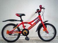 "(2069) 16"" 10"" LIGHTWEIGHT Aluminium ORBEA Boys Girls Childs Bike Bicycle Age: 5-7 Height: 110-125cm"