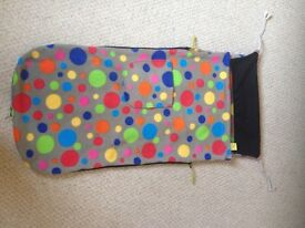 Original Buggy Snuggle pushchair blanket