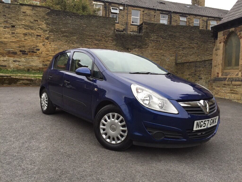 2007 vauxhall corsa 1 2 petrol life royal blue in. Black Bedroom Furniture Sets. Home Design Ideas