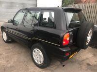 Toyota rav 4 2.0 petrol 4x4 p reg 1996! Mot jan 2019! Good runner! Fair condition! Bits rust £400!!