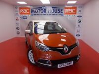 Renault Captur DYNAMIQUE S MEDIANAV ENERGY DCI S/S)FREE MOT'S AS LONG AS YOU OWN THE CAR!! 2014