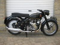 Velocette 500cc MSS Motorcycle 1961.