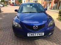 MAZDA 3 TS2 D MK1 Facelift 1.6 5dr Diesel Hatchback Blue 1560cc Manual 2008(57) HPI CLEAR
