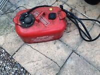 Fuel tank for outboard motor