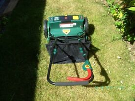 Victor Garden Tools Model 9806 Cordless Battery Lawnmower.