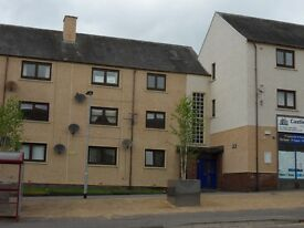 Large two bedroom flat in Sauchie Main Street.