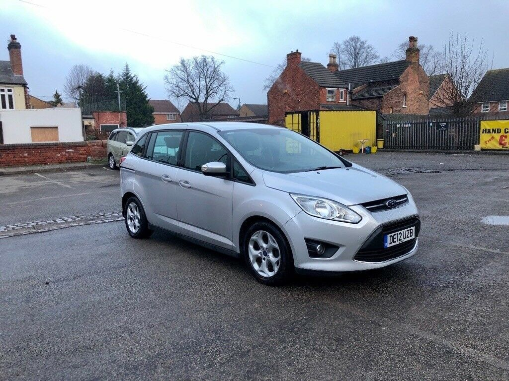 2017 Ford Grand C Max 7 Seater 1 6 Tdci Mot 12 Months Full Hpi Clear