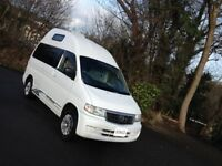 HI SPEC 02 NEW SHAPE MAZDA BONGO HIGH TOP/LOW MILES WITH BIMTA CERTIFICATE/MAINS HOOK UP/2013 REG UK