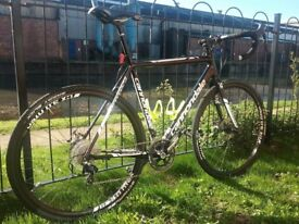 Cannondale CaadX Cyclocross Bike. Ride Roads or Light Trails. Light & Fast - As New!