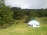 Yurt, Handmade. 19ft, full wool lining and extras