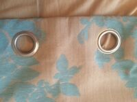 Curtains, poles and cushions bundle