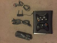 Xbox 360 with games excellent condition