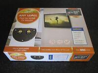 AVF NZL2500 Premium Unimax Any Wall TV Wall Mount Flat