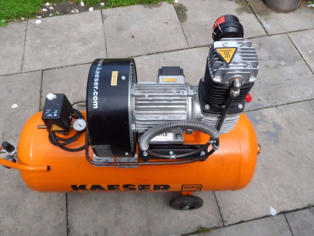Air compressor kaeser craftsman classic 460 90w in for Craftsman classic