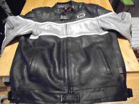 Hein Gericke 70 Motors Inc. Leather Motorcycle Jacket.