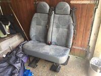Mk7 Ford Transit passenger seat