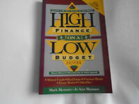 High Finance on a Low Income. Best Seller over 250,000 copies sold. Only £8.97