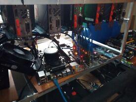 8x GTX 1080 TI Mining Rig