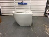 Brand new Cestine modern back to wall toilet with soft close seat