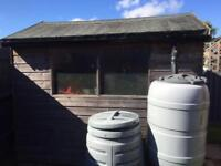 Garden shed for sale, buyer to dismantle and collect